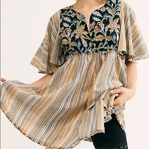 Under the Sun Tunic Free People size L NWT